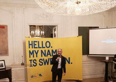 På svenska ambassaden
