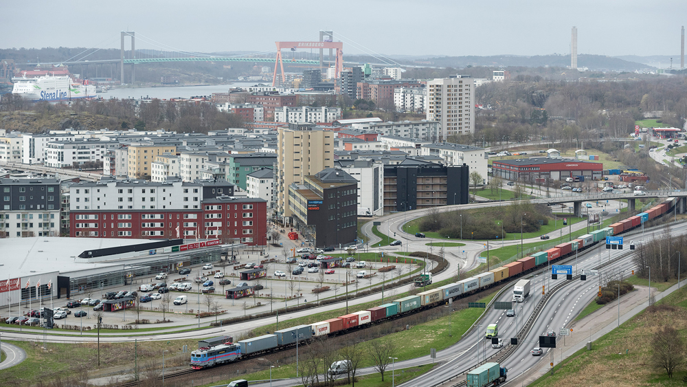 Hamnbanan i Göteborg