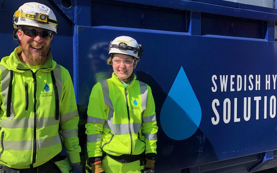 Swedish Hydro SolutionsMasthugget i Göteborg -